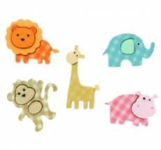 Knöpfe - Baby Safari