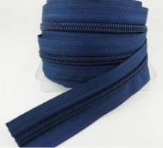 Endlosreißverschluß 5 mm marineblau
