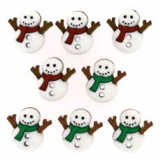 Knöpfe - Sew cute snowmen