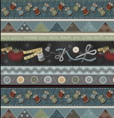 My Sewing room border