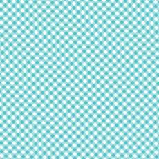 Quilt camp checker blue