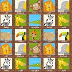Safari expidition labels
