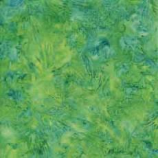 Island Batik green turquoise