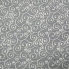 Russian spirals grey
