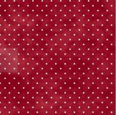 Welcome Home Flannel  Dots Red