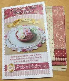 Welcome Home Table Topper Kit
