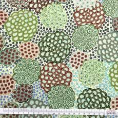 Aborigines - Dancing Flowers Green