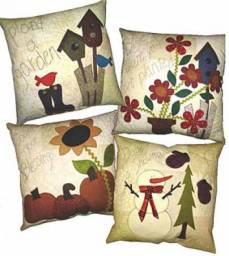 Anleitung Seasonal Pillows
