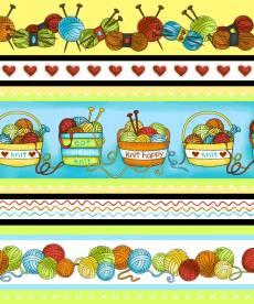Knit Happy border