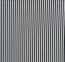 1/8 inch Stripe black white