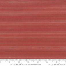 Snowfall Woven stripe red
