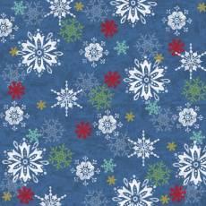 Winter Joy Snowflake blue