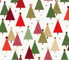 Christmas Modern Trees Green