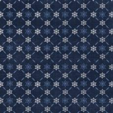 Icy Winter Darkblue Cristall