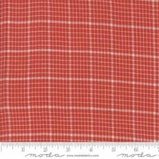 Snowberry Wovens Checker Red