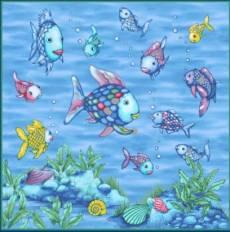 Rainbow fishing - Panel