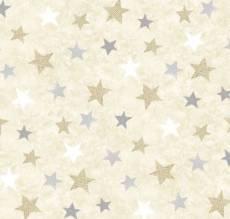 Holiday Meadow Stars allover