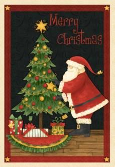 Santas Big Night, Debbie Mumm - Panel