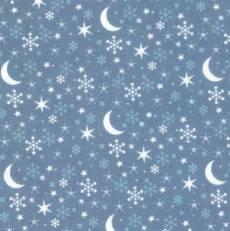 Westfalenstoff Kitzbühel stars  blau