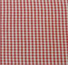 Yarn Dye Checker red