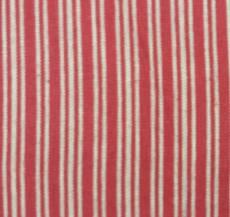 Yarn Dye Stripe red