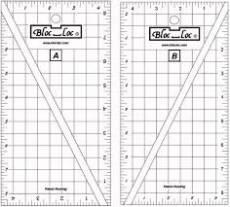 Bloc Loc Half rectangle triangle Set