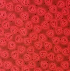 Quilter Basic Herzen rot