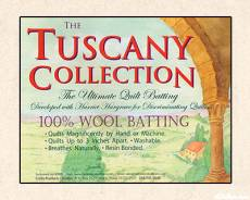 Tuscany 100% Wool Batting Twin
