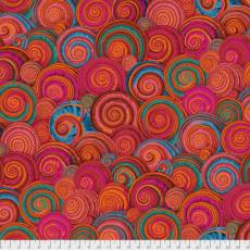 Kaffe Fassett Spiral shells orange