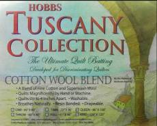 Tuscany Cotton Wool Batting Twin