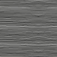 Avalana Jersey stripe black white