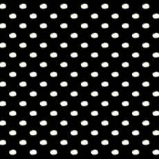 Avalana Jersey dots black and white