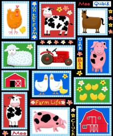 Farm life patch