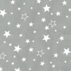 Cozy Flanell Stars grey