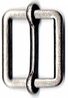 Leiterschnalle silber XS