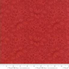 Farmhouse floral red