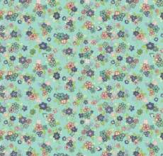 Katie Jane Multi Floral Turquoise