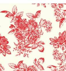 Katie Jane Toile Red