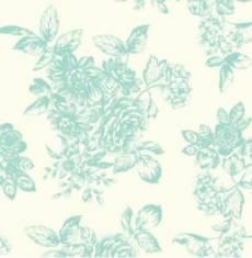Katie Jane Toile Turquoise