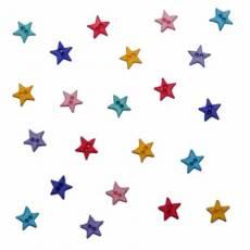 Knöpfe - Micro Mini Stars Flirt