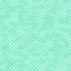 Gradiente turquoise flower mesh