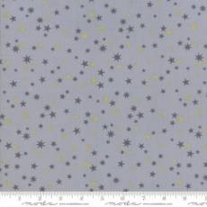 Zen Chic White Christmas Stars grey