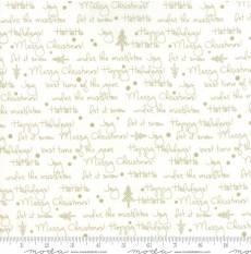 Zen Chic White Christmas Script white