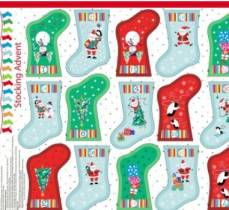 Christmas Jolly Santa Stocking