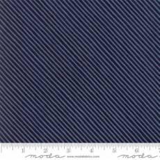Moda Wintertide stripe dark blue