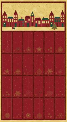 Amazing star red Adventskalender