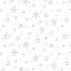 Amazing star white snow