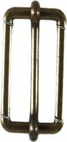 Leiterschnalle antikmessing S