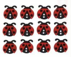 Knöpfe - Sew cute Ladybugs