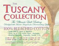 Tuscany 100% Unbleached Cotton Queen